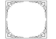 La vue et les cadres paginent la décoration Photos stock