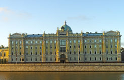 La vue générale de la compagnie russe principale Rosneft siège o Photos stock