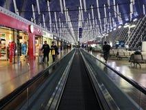 La vue intérieure de l'aéroport international de Pudong Photo libre de droits