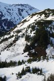 La vue montagneuse Images stock