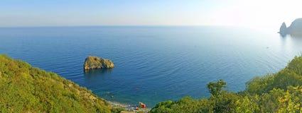 La vue panoramique du cap de Fiolent Photo libre de droits