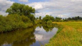 La vue rurale Photo libre de droits