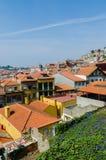 La vue scénique de la ville de Porto Images libres de droits
