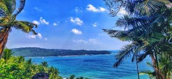 La vue sereine à la baie du nord qui est portrait dans l'actualité indienne de 20 image stock