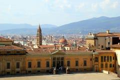 La vue sur la ville Photo stock