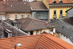 La vue sur la vieille ville de Berne Photo stock