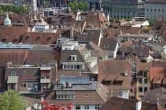 La vue sur la vieille ville de Berne Photo libre de droits