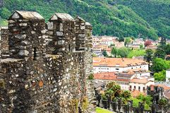 La vue sur la vieille ville de Berne Photographie stock libre de droits