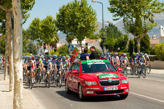 La Vuelta Stock Images