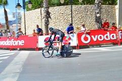 La Vuelta de vélo de Team Sky TTT Image libre de droits