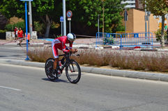 La Vuelta España TTT Team Korfidis Rider photos stock