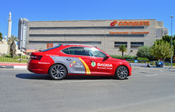 La Vuelta España Race Directors Car Royalty Free Stock Photos