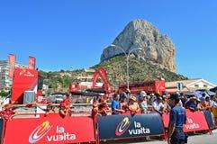 La Vuelta España Calpe Royalty Free Stock Images