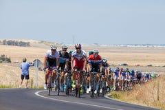 La Vuelta - Spanje Stadium 5 in Provincie 26 Augustus 2015 van Cadiz Royalty-vrije Stock Foto
