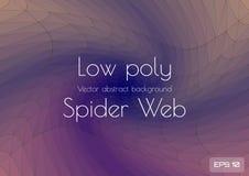 La web de ara?a marr?n azul polivin?lica baja del extracto form? espiral Vector texturizado libre illustration