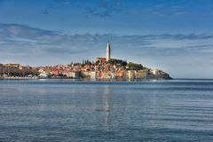 La WS Rovigno Croazia Fotografie Stock Libere da Diritti