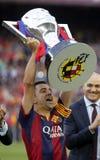 La Xavi Hernandezs FC Barcelone V Corogne Liga - Spanien Stockbild