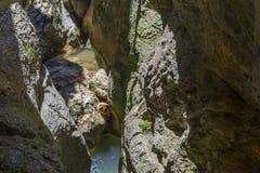 La Yecla Gorge, Burgos Province, Spain Royalty Free Stock Photos