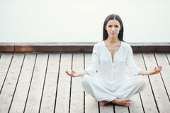 La yoga es mi vida Imagenes de archivo