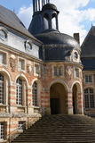 La Yonne, le château pittoresque du saint Fargeau Photos stock