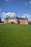 La Yonne, le château pittoresque du saint Fargeau Photos stock