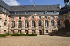 La Yonne, le château pittoresque du saint Fargeau Images stock