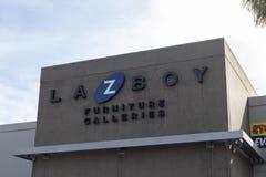 La Z少年零售店标志 库存图片