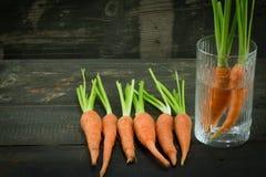 la zanahoria fresca Fotografía de archivo