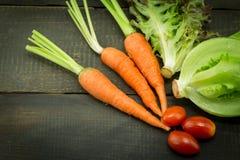 la zanahoria fresca Fotografía de archivo libre de regalías