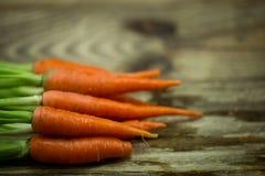 la zanahoria fresca Foto de archivo libre de regalías