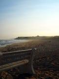 La zanja aclara la playa Océano Atlántico Montauk Nueva York los E.E.U.U. en la ha Imagenes de archivo