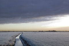 La zanja holandesa imagenes de archivo