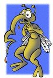 La zanzara Immagine Stock