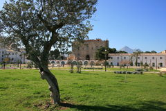 La Zisa Castle and gardens Royalty Free Stock Photo