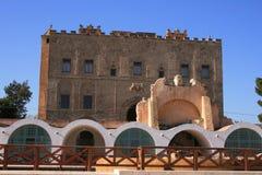 La Zisa em Palermo, Sicília Foto de Stock Royalty Free