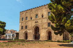 La Zisa. In Palermo Sicily, shot of one of the best preserved Norman castles in Sicily Stock Photography