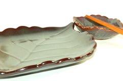 La zolla giapponese dei sushi ha impostato 2 Fotografie Stock