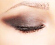 La zona dell'occhio compone Immagine Stock