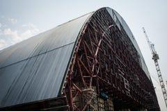 La zona della centrale atomica di Cernobyl di alienazione Fotografia Stock Libera da Diritti