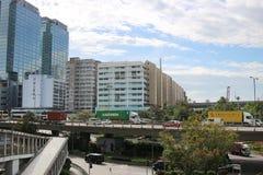 la zona industriale al Kwai Chung fotografia stock libera da diritti