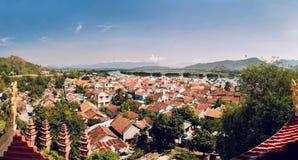 La zona residenziale di Nha Trang Fotografia Stock