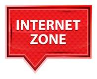 La zone d'Internet brumeuse a monté bouton rose de bannière illustration stock