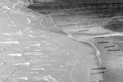 La zone intertidale côtière photos stock