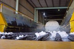 Laadmachine voor katoenen balen Royalty-vrije Stock Fotografie
