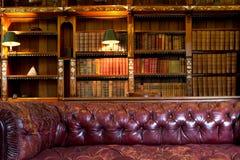 Laag en bibliotheek Stock Afbeeldingen