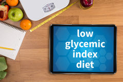 laag glycemic indexdieet Royalty-vrije Stock Afbeelding