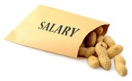 Laag salaris stock afbeeldingen