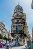 LaAldriatica byggnad på Seville Spanien Royaltyfria Foton