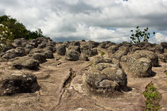Laan Hin Pum Viewpoint at Phu Hin Rong Kla National Park Royalty Free Stock Photos