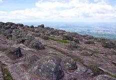 Laan Hin Pum Viewpoint at Phu Hin Rong Kla National Park Stock Images